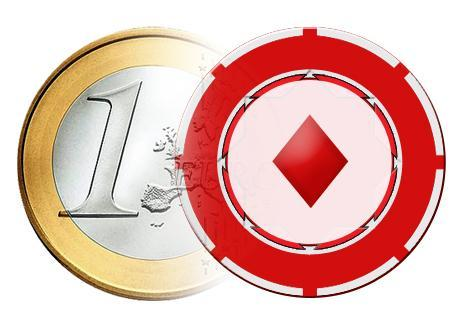 Euro ja pelimerkki